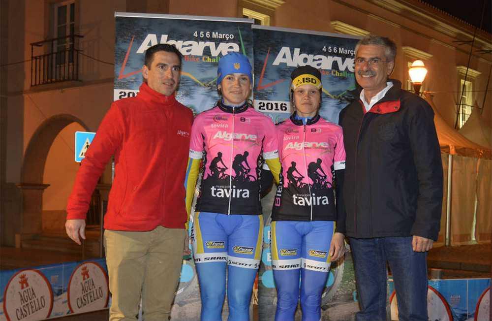 Algarve Bike Challenge primera etapa leaders fem catUCI