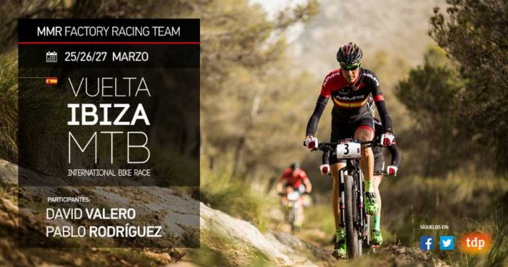 David Valero y Pablo Rodríguez (MMR Factory Racing Team) a la Vuelta a Ibiza MTB MMR 2016