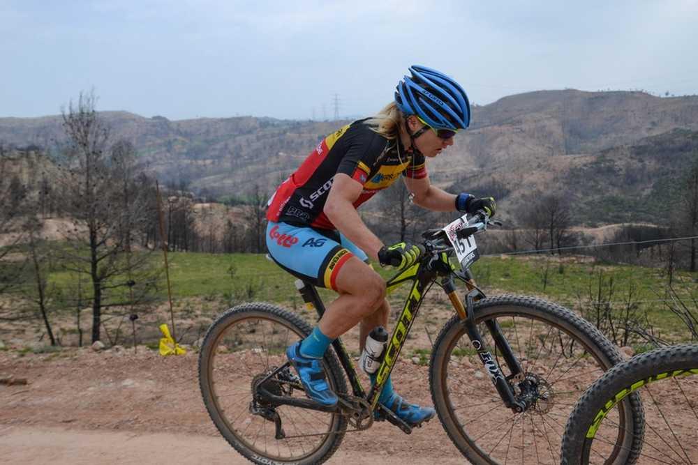 Githa Michiels 2ª etapa VolCat 2016