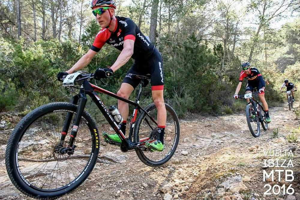 Pablo Rodríguez y David Valero lideres tras la 2ª etapa de la Vuleta a Ibiza MTB 2016