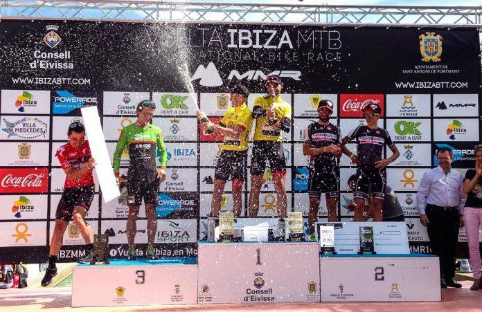 Podio Élite Vuelta Ibiza MTB MMR 2016