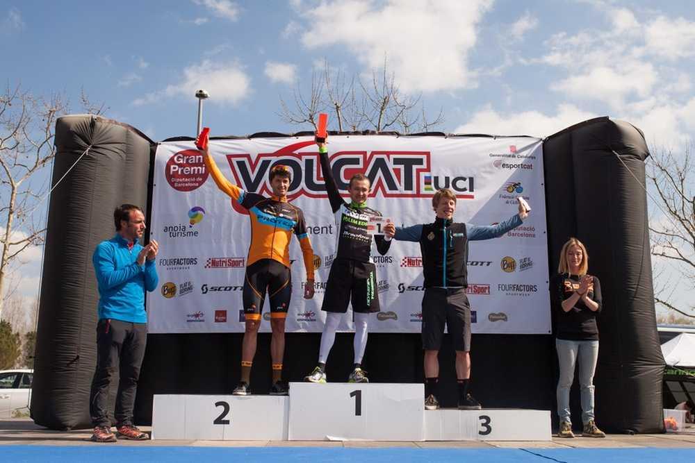 Podio Masculino 2ª etapa VolCat 2016