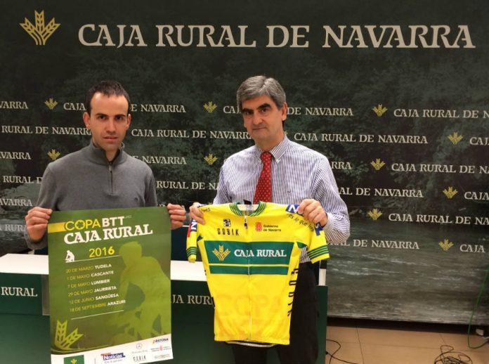 Presentada la Copa Caja Rural BTT 2016 que comienza el domingo en Tudela