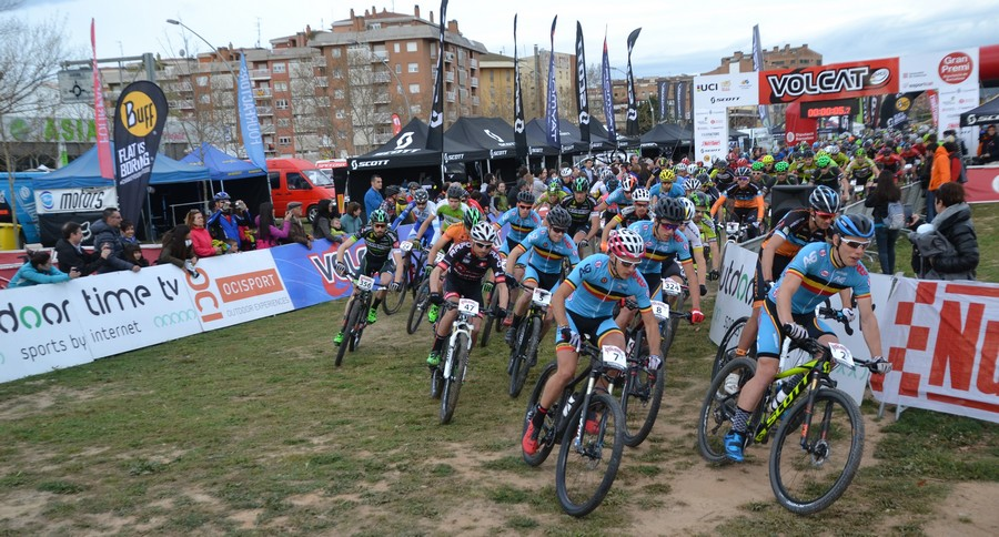 Salida 3ª etapa VolCAT 2016