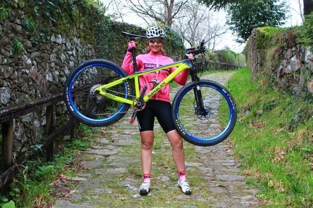 Silvia Blanco, nueva corredora del equipo Saracen - Iberobike