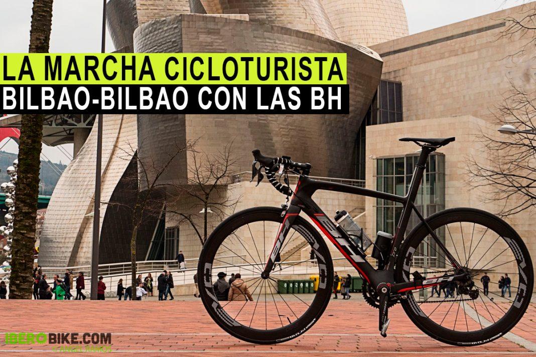 bicicleta bh g6 en la bilbao-bilbao