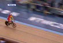 sebastian mora gana el campeonato del mundo de ciclismo de pista