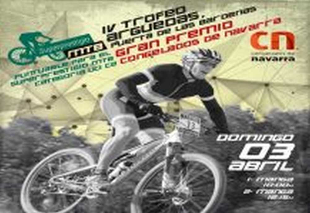 Cartel Superprestigio MTB Arguedas 2016