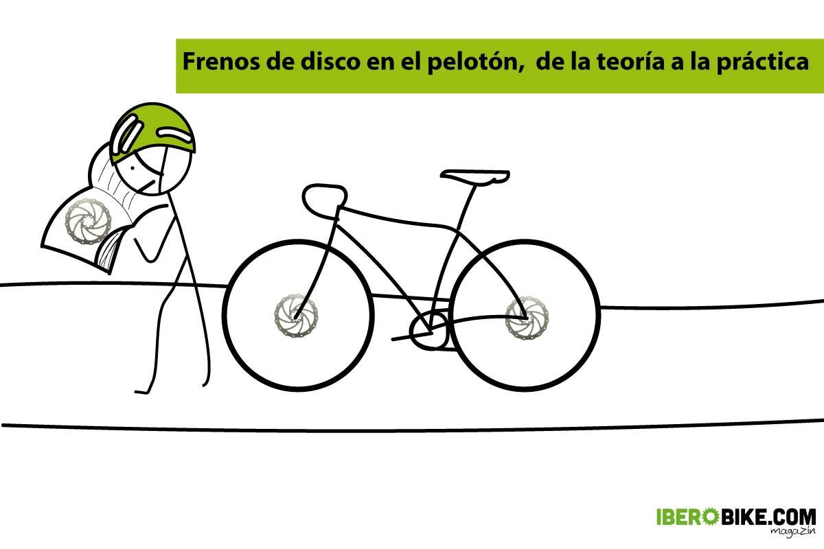 frenos de disco en bicicletas de carretera