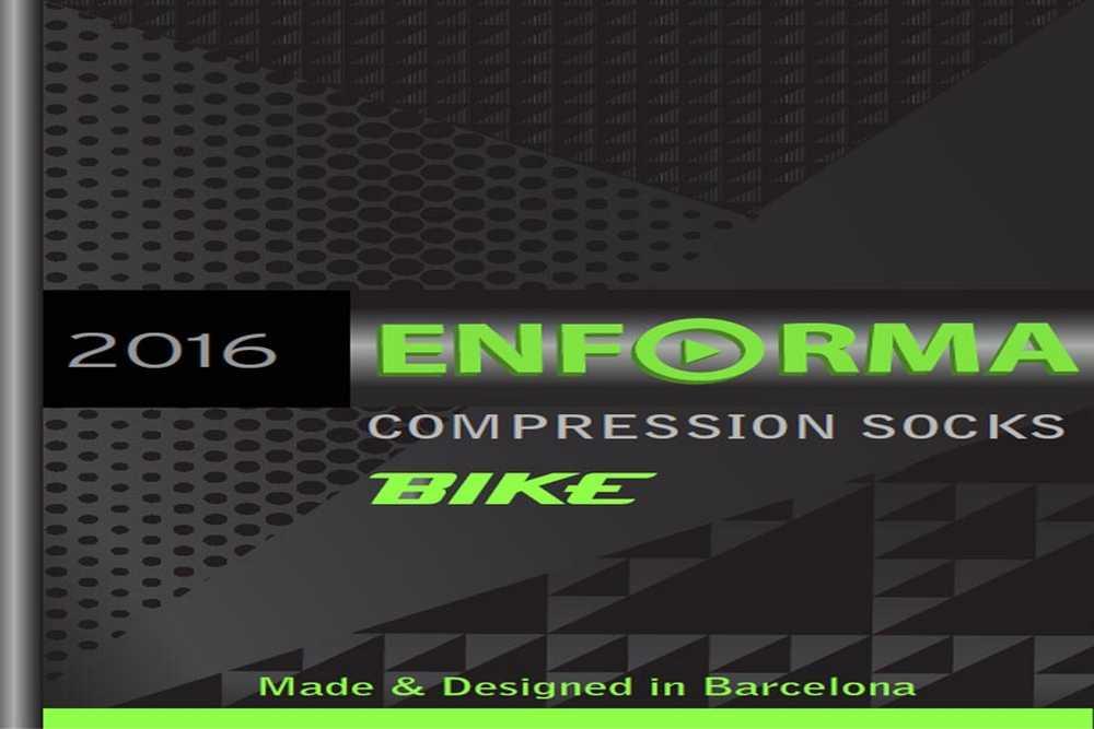 Catálogo Enforma Compression Socks Bike 2016