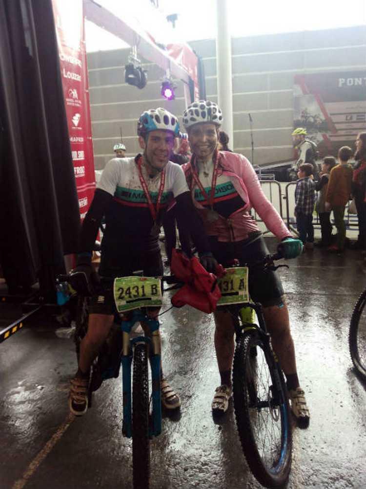 Crónica Pontevedra 4 Picos Bike - Desafio Rías Baixas por Silvia Blanco ( Saracen - Iberobike)