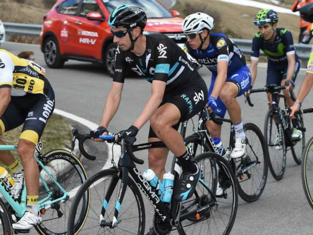 David López del Giro de Italia a la Vuelta Cicloturista a Ibiza Campagnolo 2016