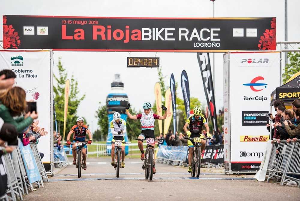 Galicia llegada Rioja Bike Race 2016