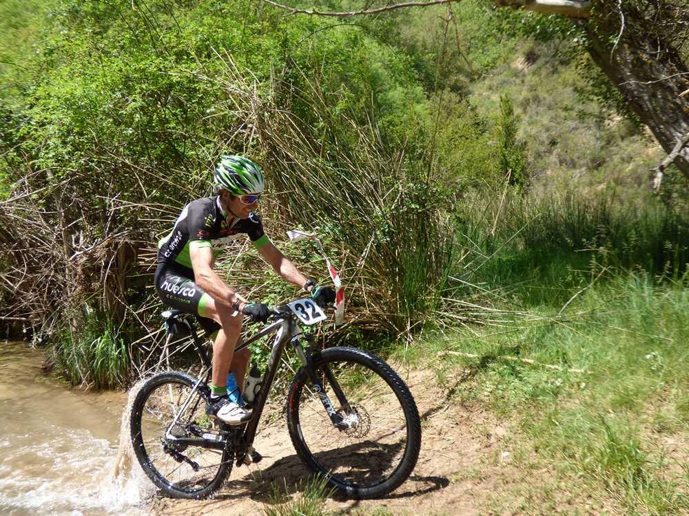 Guara Tour 2016 El corredor local Óscar Puyuelo tercer clasificado.