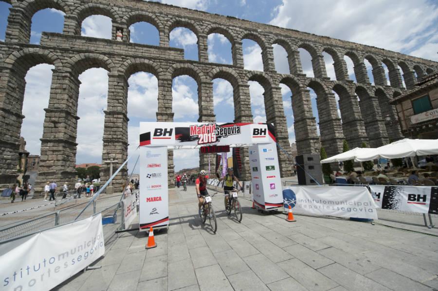 Tercera edición de la BH Madrid-Segovia