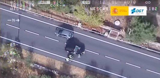 ciclista adelantado de forma incorrecta dgt