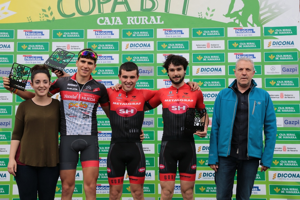podio sub23 jaurrieta Copa Caja Rural BTT 2016