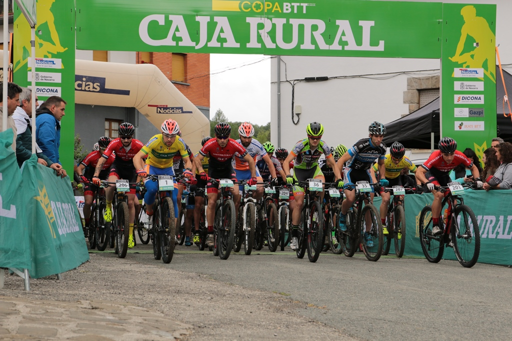 primera salida jaurieta Copa Caja Rural BTT 2016