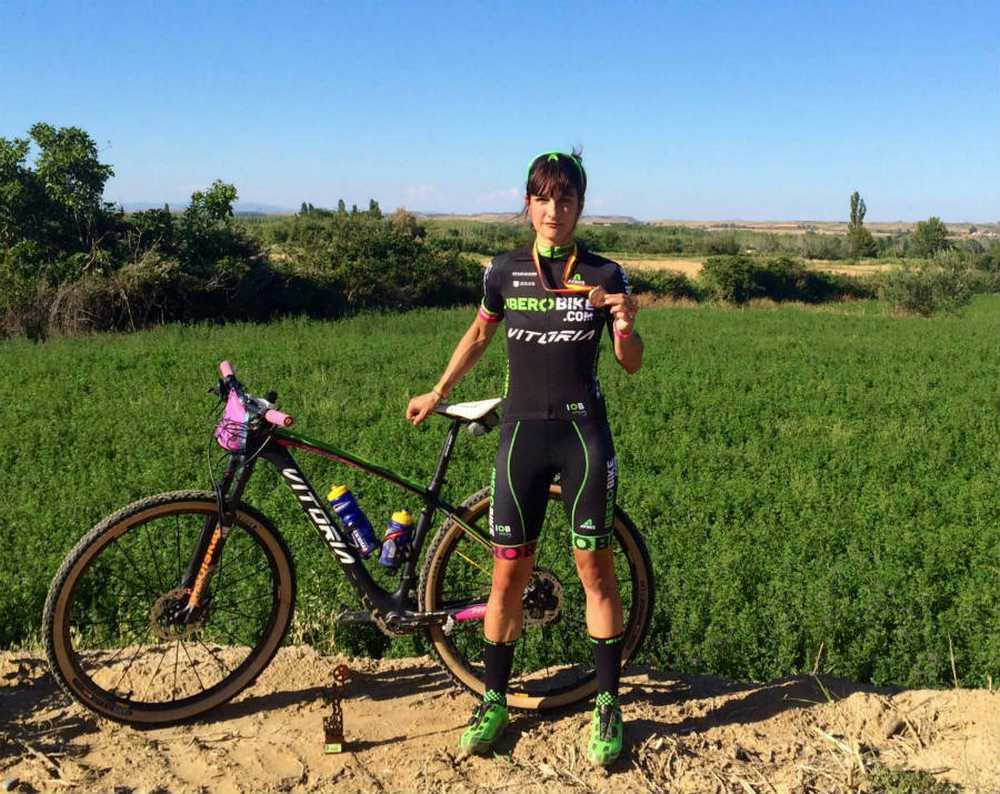 Clara Pirla ( Iberobike - Vitoria Bikes By Atika) tercera en el Campeonato de España de Ultramaratón