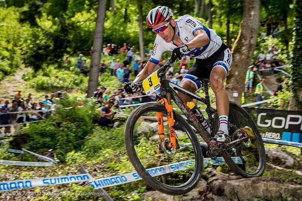 Julien Absalon presenta su BMC Teamlite 01 2016