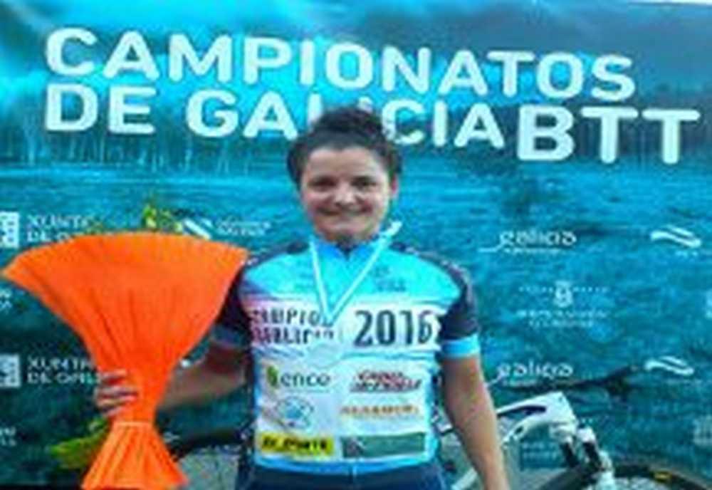 Lucia Vazquez Me siento una embajadora del mountain bike femenino de Galicia