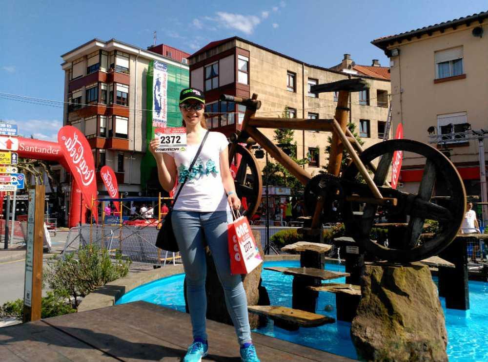 Recogida dorsal Los 10.000 del Soplao El infierno Cántabro por Silvia Blanco (Saracen - Iberobike)