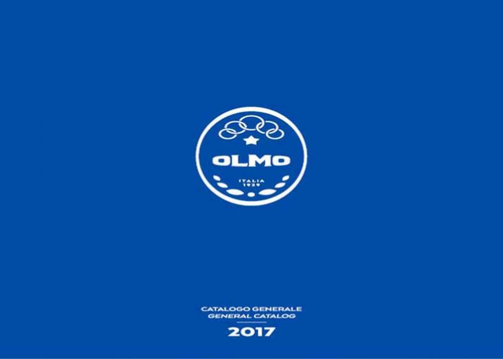 Catálogo bicicletas Olmo 2017