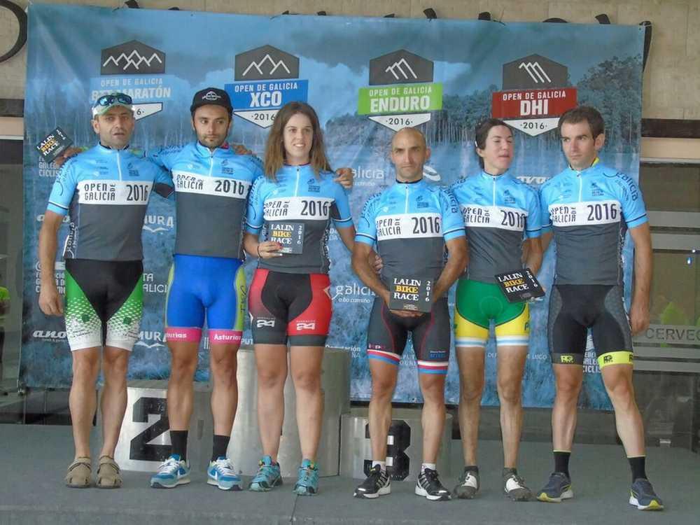 Ganadores open de Galicia XCM Lalín Bike Race 2016