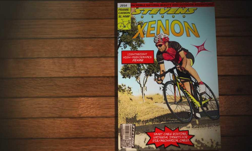 bicicleta steven xenon