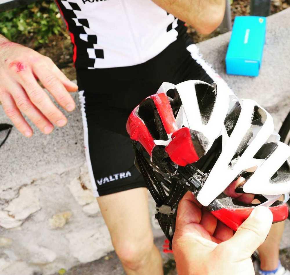 Una caída en bicicleta acaba con la vida de un ciclista en
