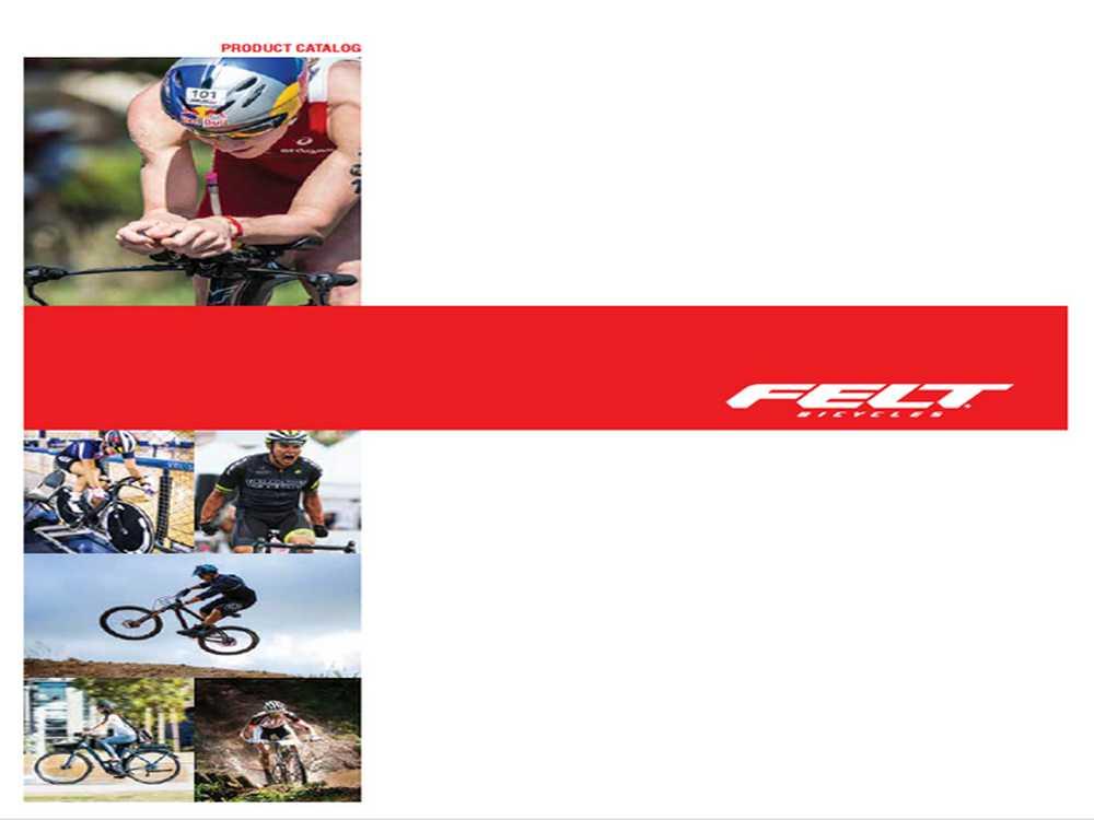Catálogo bicicletas Felt 2017