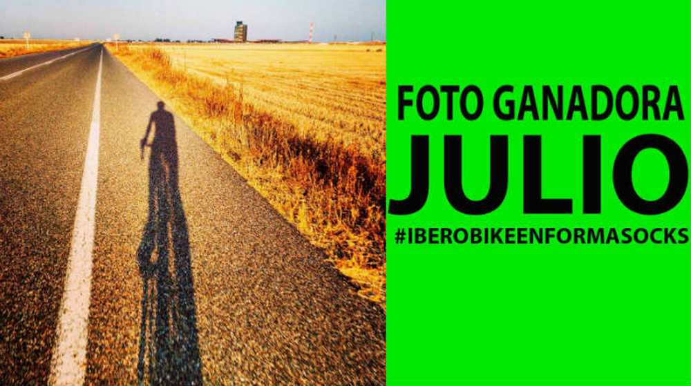 Foto del día ganadora del mes de Julio #IberobikeEnformasocks