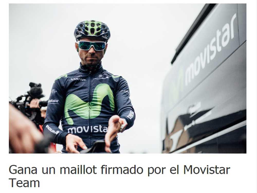 Maillot Movistar Team