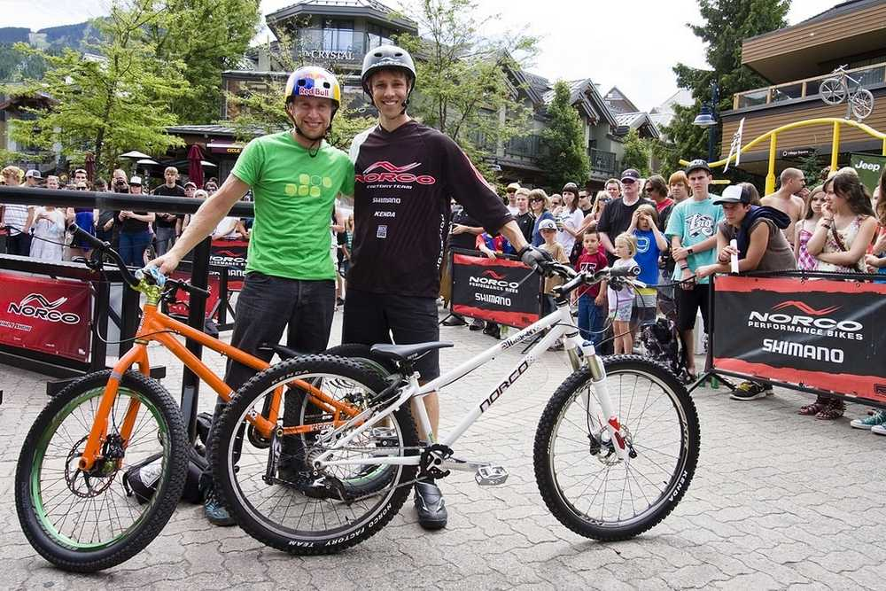 Ryan Leech and Danny Macaskill norco