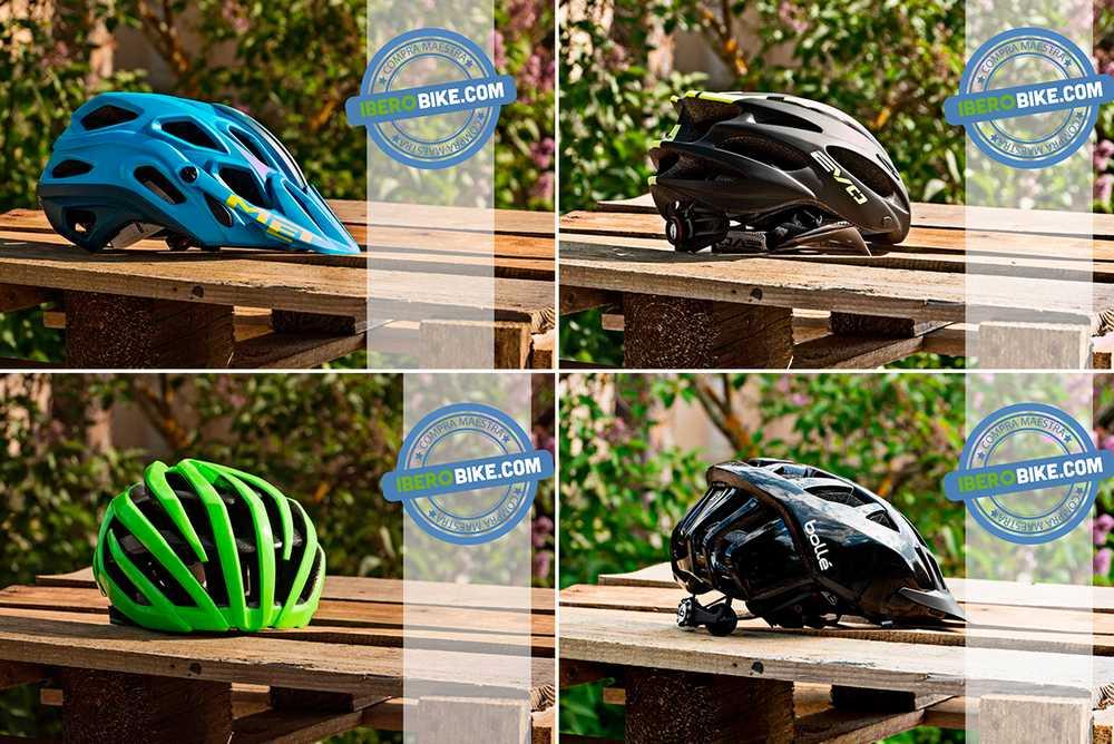 los mejores cascos para montar en bicicleta