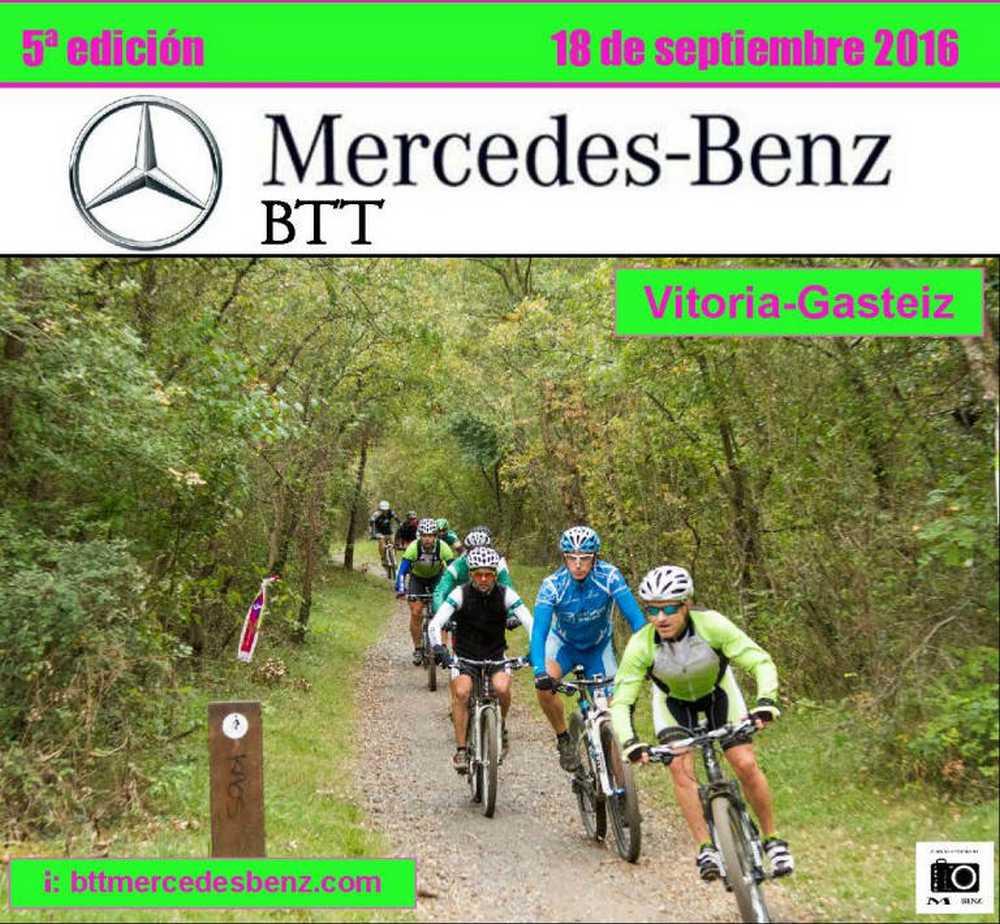Cartel V Marcha BTT Mercedes-Benz