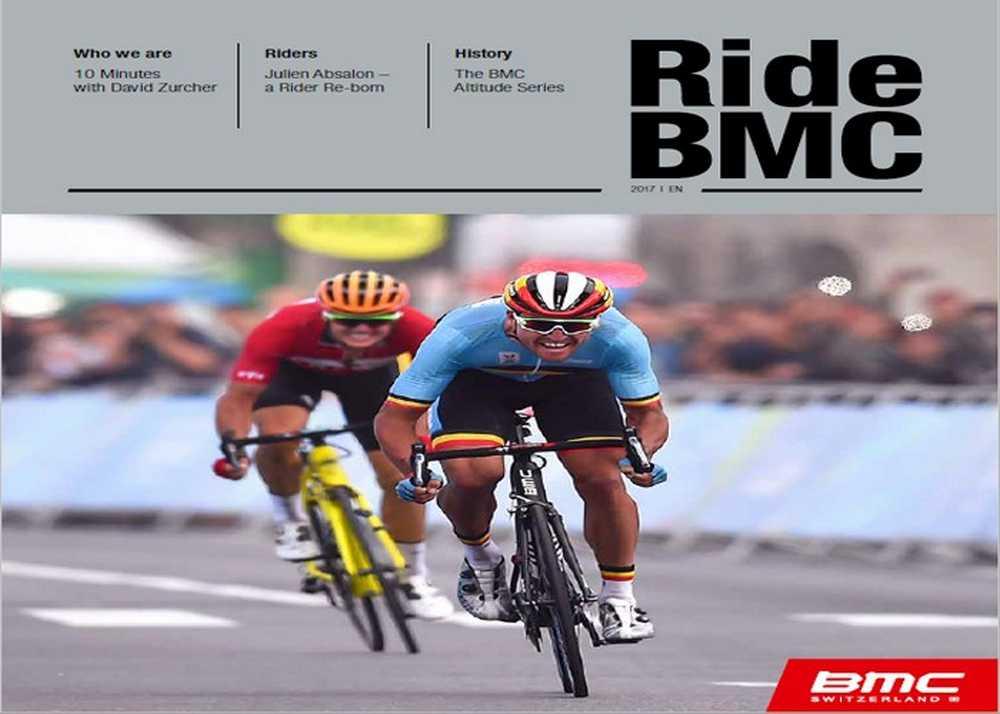 Catálogo bicicletas BMC 2017
