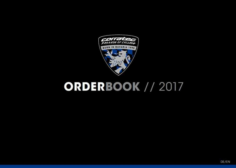 Catálogo bicicletas Corratec 2017