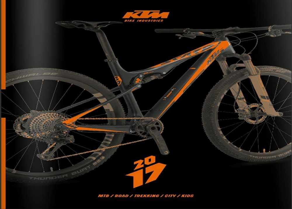 Catálogo bicicletas KTM 2017