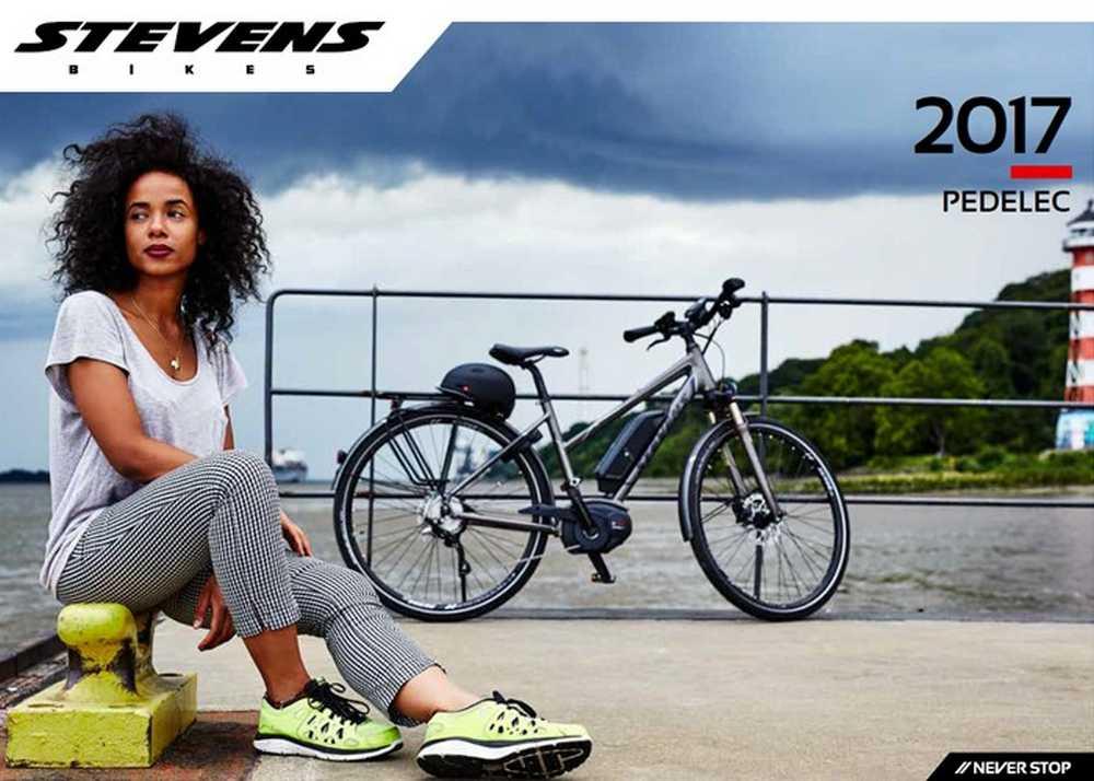 Catálogo bicicletas e-bikes Stevens 2017
