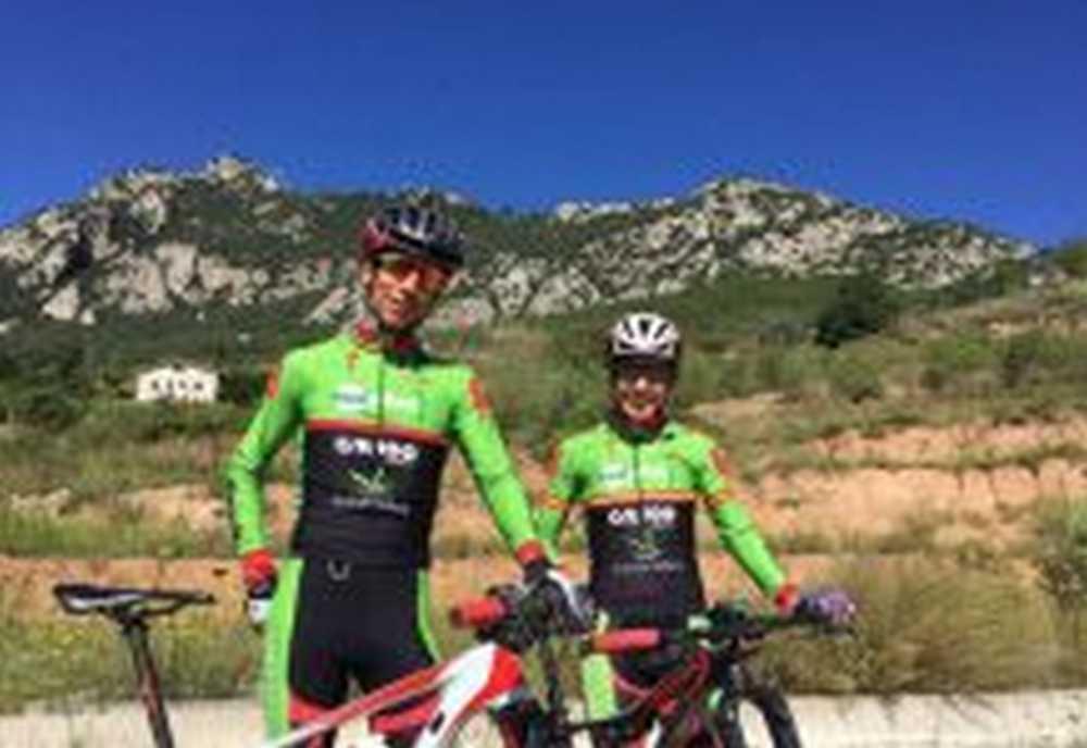 Pedro Romero y Susana Alonso a por todas en el Campeonato de España de BTT Maratón