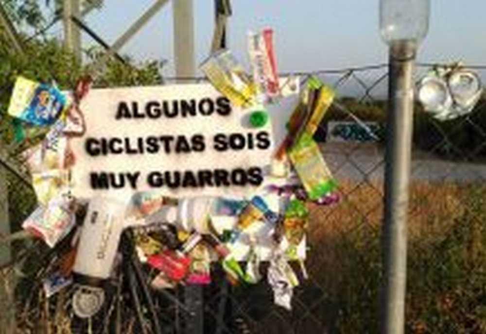 basura ciclista