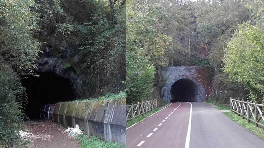 Petición de firmas para que terminen de acondicionar la Via Verde de La Orconera hasta Retuerto, Vizcaya