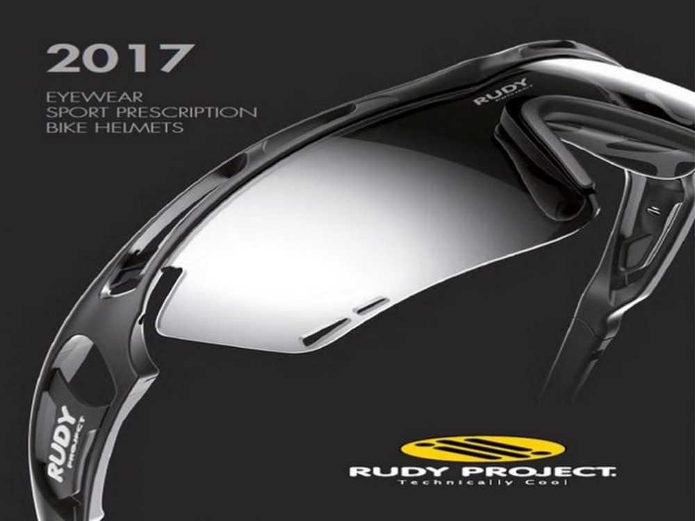 Catálogo Cascos y Gafas Rudy Project 2017