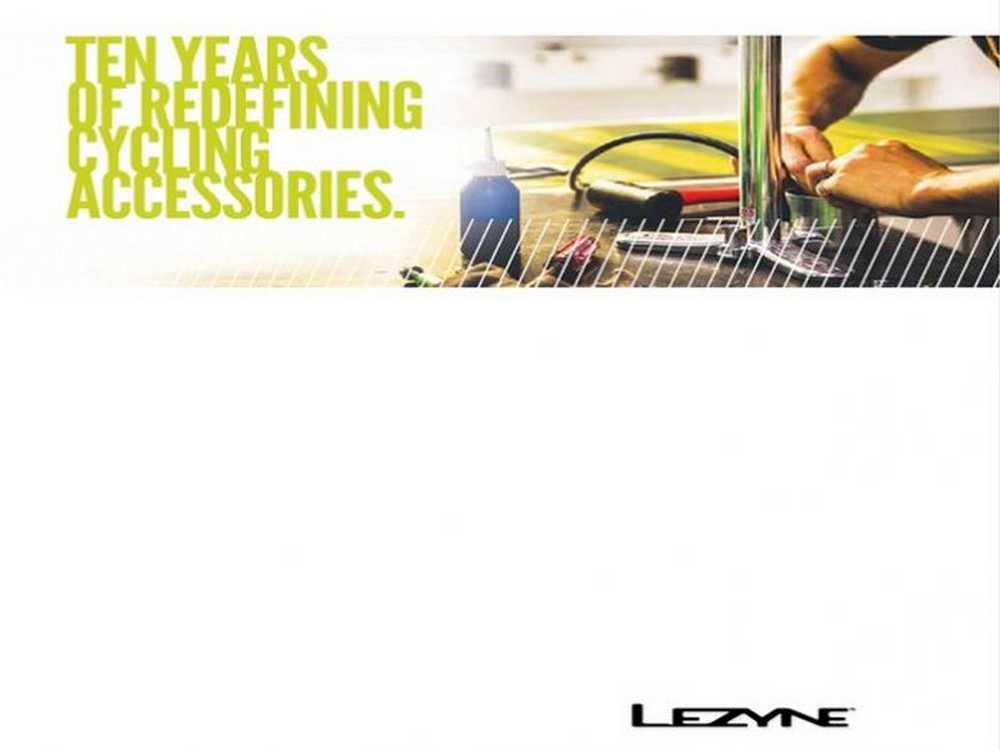 Catálogo Lezyne 2017
