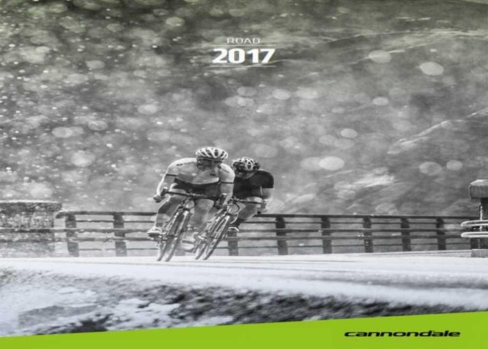 Catálogo bicicletas Cannondale road 2017
