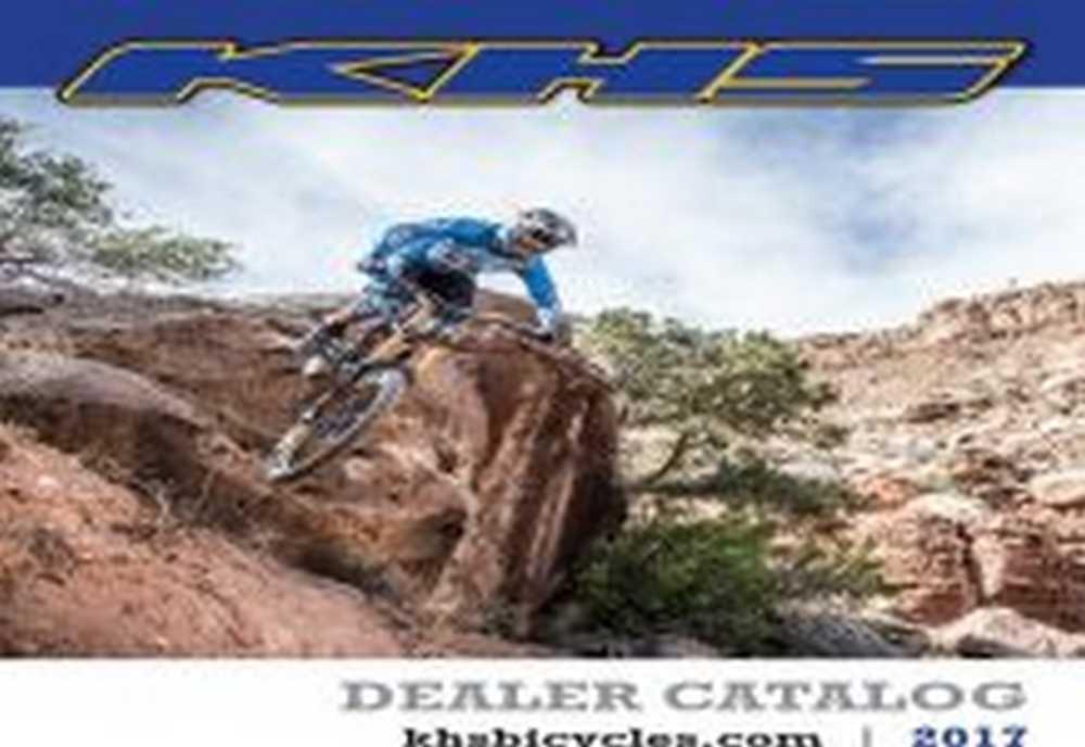 Catálogo de bicicletas KHS 2017