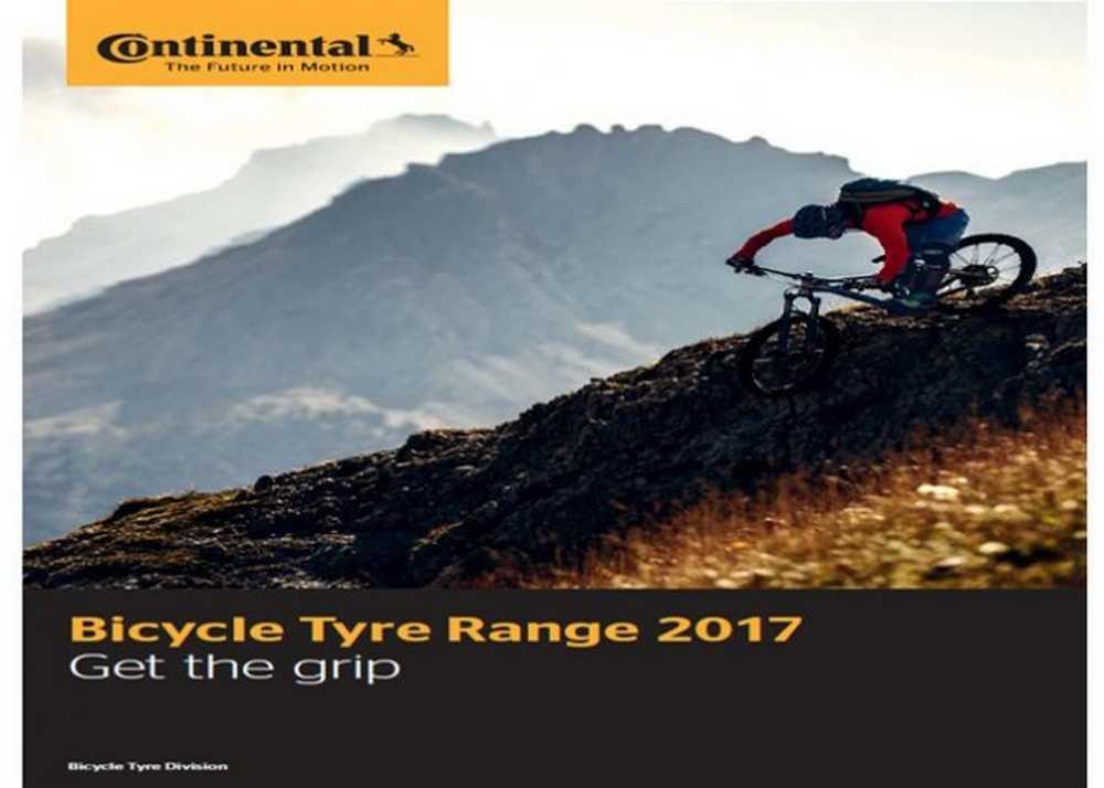Catálogo neumáticos Continental 2017