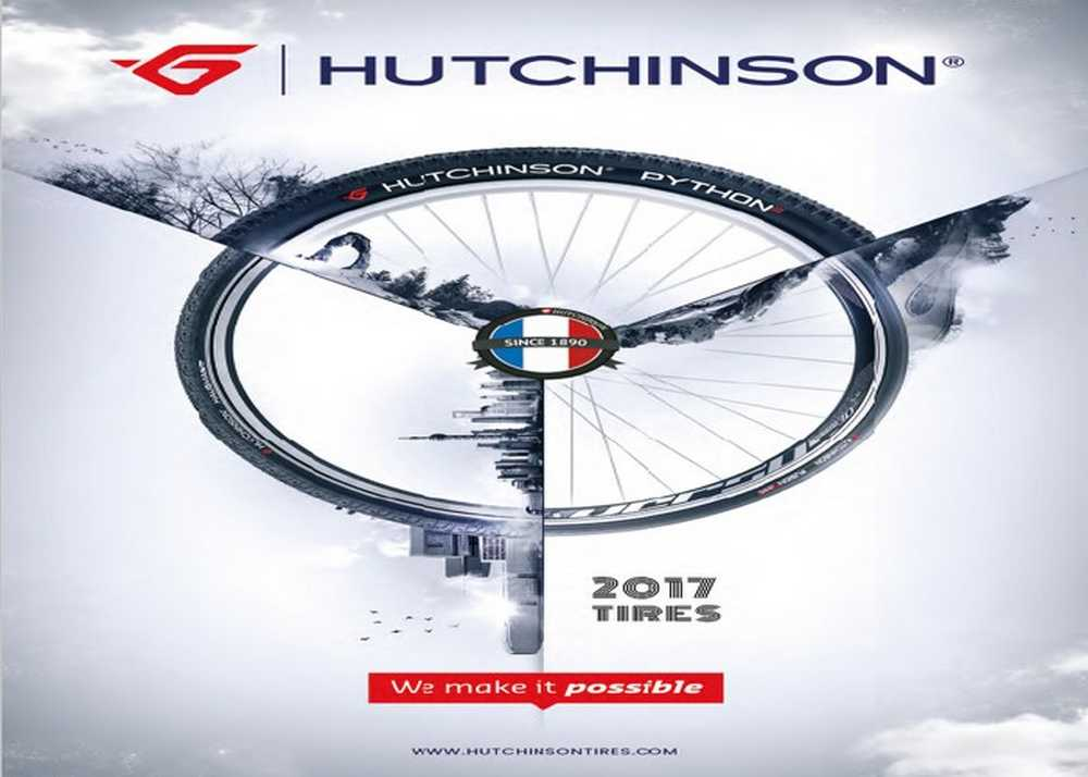 Catálogo neumáticos Hutchinson 2017