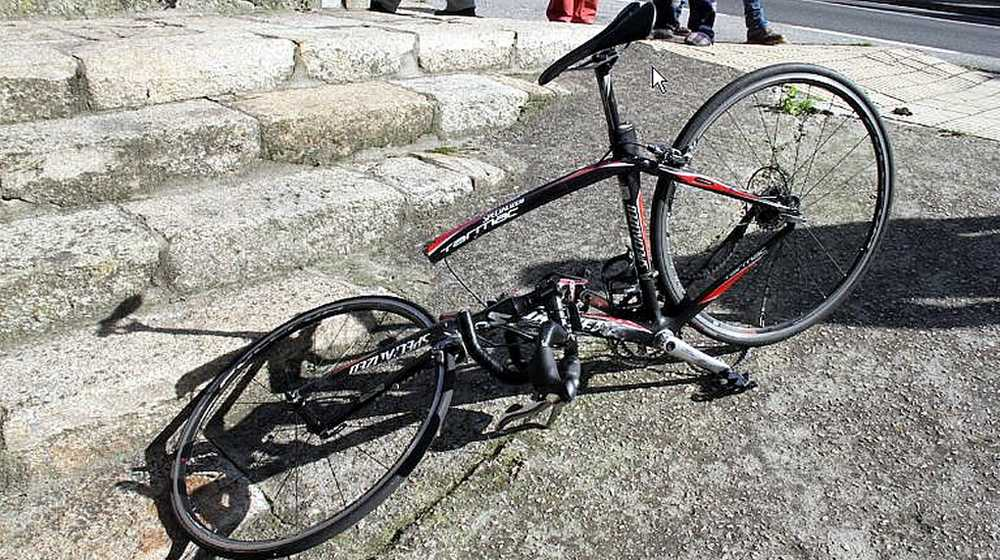 ciclista atropellado